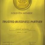 Top 1 - Gold Pin Member